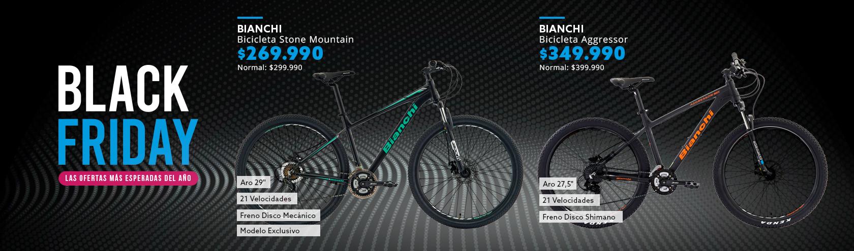Black Friday los mejores descuentos en Bicicletas
