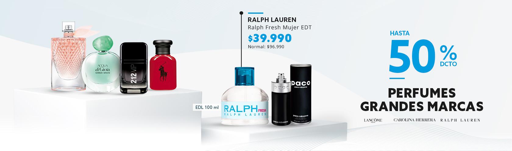 Hasta 50 de descuento en Perfumes Frag Hombre