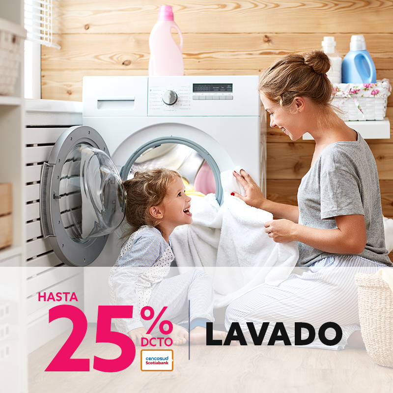 Hasta 24% de descuento en Lavado