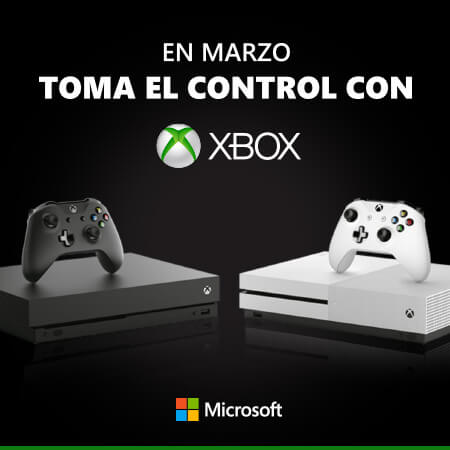 Disfruta de una experiencia de juego envolvente y con una calidad gráfica superior, gracias a la potencia y velocidad de las consolas Xbox One.