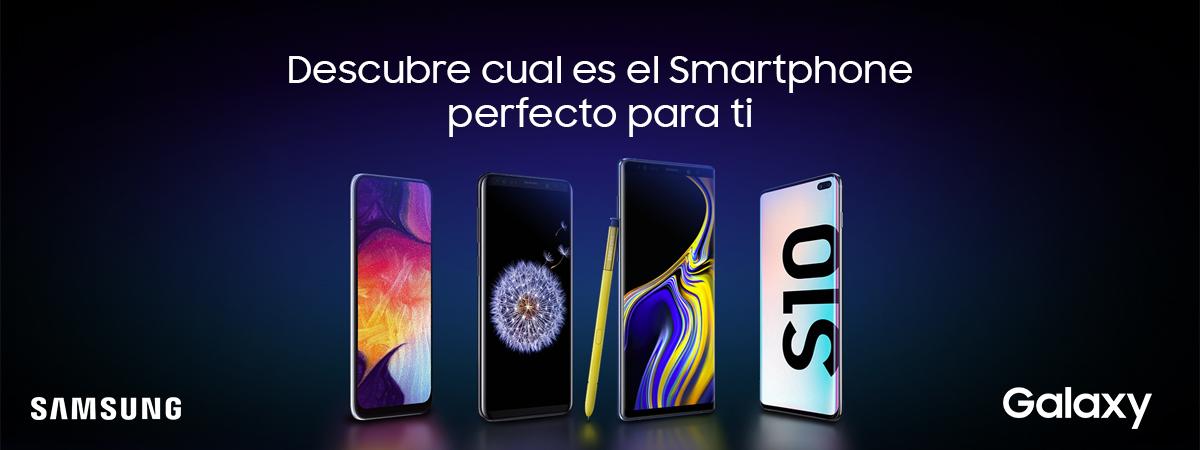Elige tu Smartphone Samsung