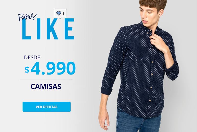 Camisas desde 4990