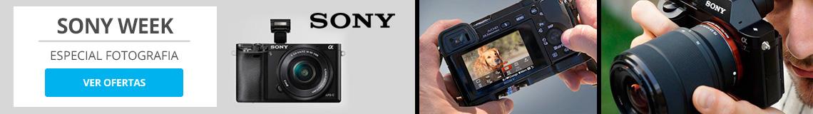 Semana Sony. Hasta un 50% de Dcto en Fotofeafia