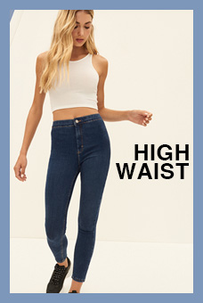 Fit Guide Jeans High Waist Mujer