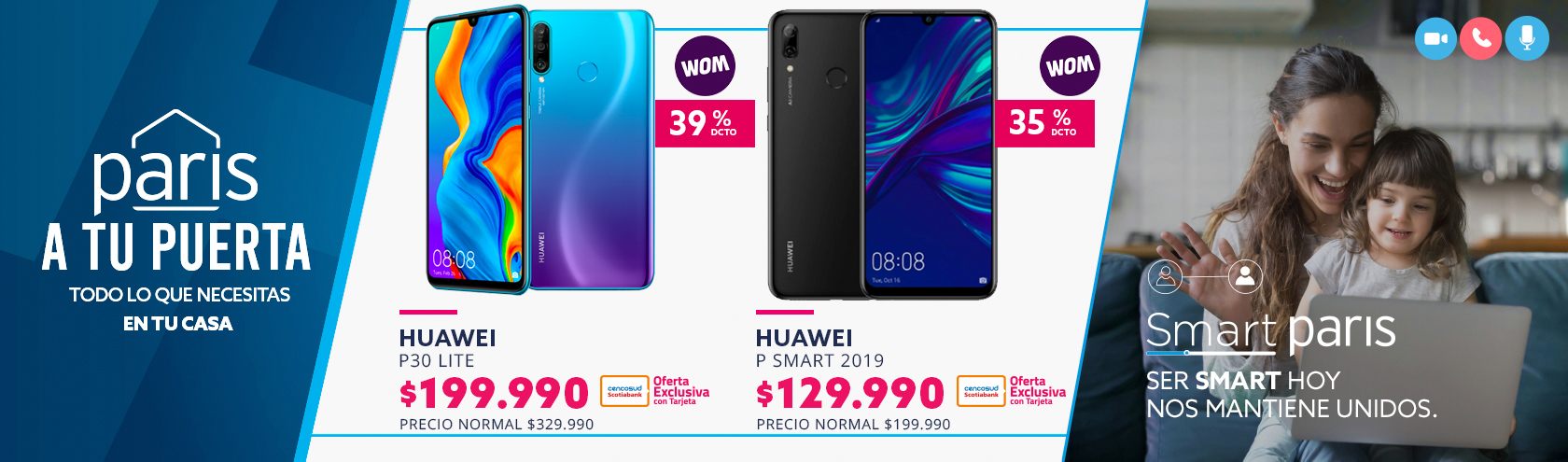 Ofertas Smartphone Huawei y Samsung