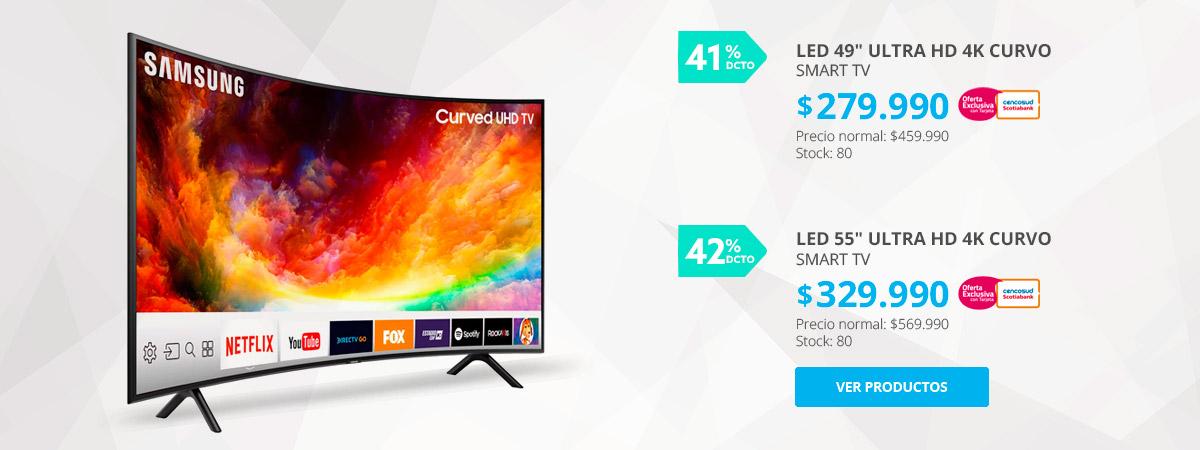LED Samsung Curvo Ultra HD Smart TV