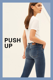 Fit Guide Jeans Push Up Mujer