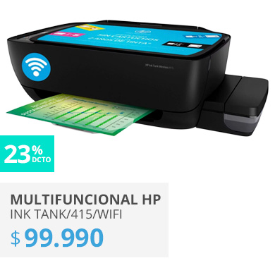 MULTIFUNCIONAL HP INK TANK 415 WIFI