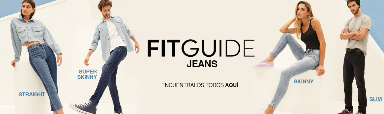 Fit Guide Jeans