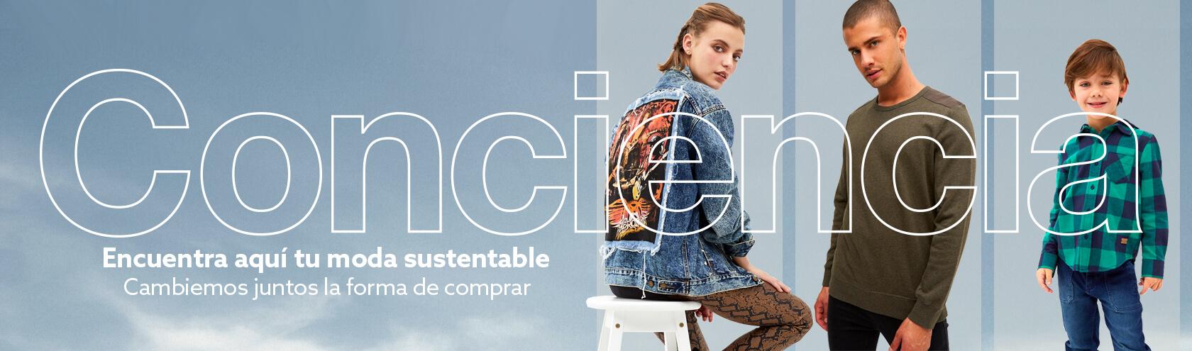 Conciencia, 100 porciento comprometidos con la moda sustentable