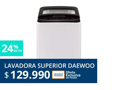 Lavadora Superior Daewoo
