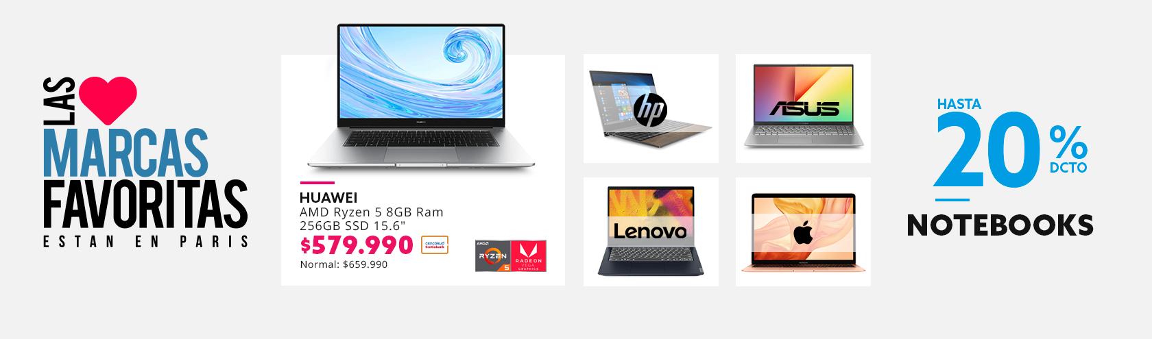 Hasta 20% de descuento con tarjeta cencosud en computadores grandes marcas