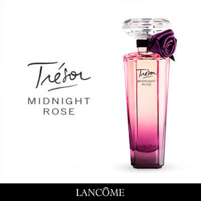 Descripción LancômeTrésor Midnight Rose EDP 75 ml