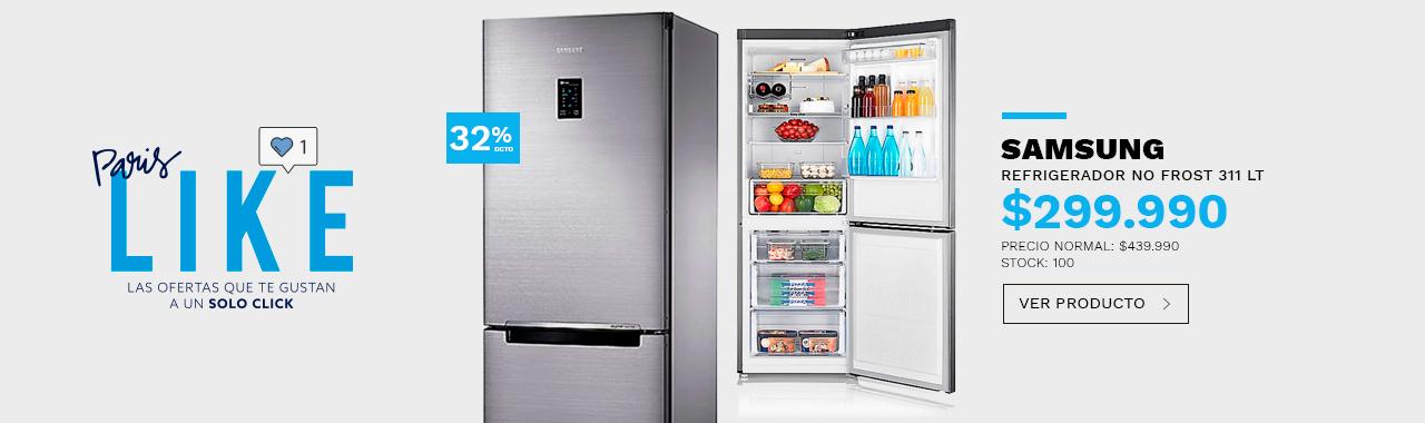 Refrigerador Bottom No Frost Samsung 311 Lt