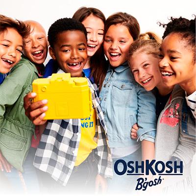 Vestidos de niños y bebé de la nueva colección Oshkosh