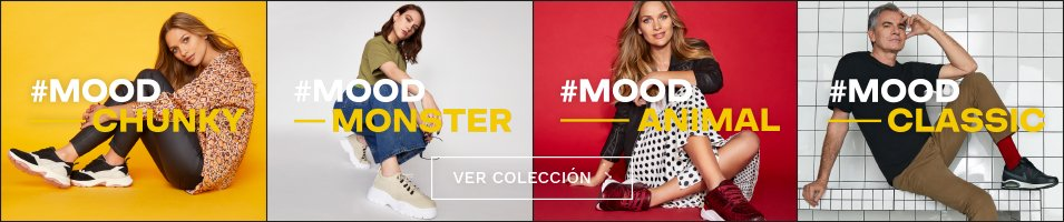 Zapatillas Chunky, Classic, Monster y Animal