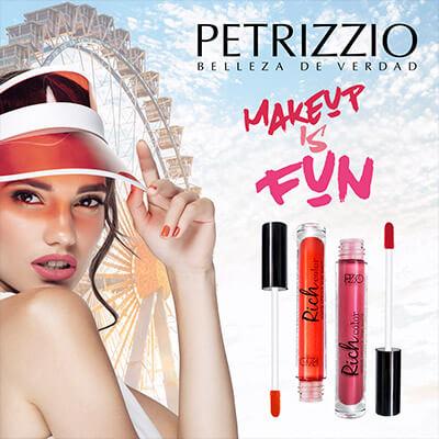 Labiales, sombras, esmaltes y más maquillaje Petrizzio