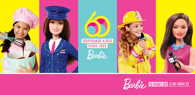 Barbie 60 años