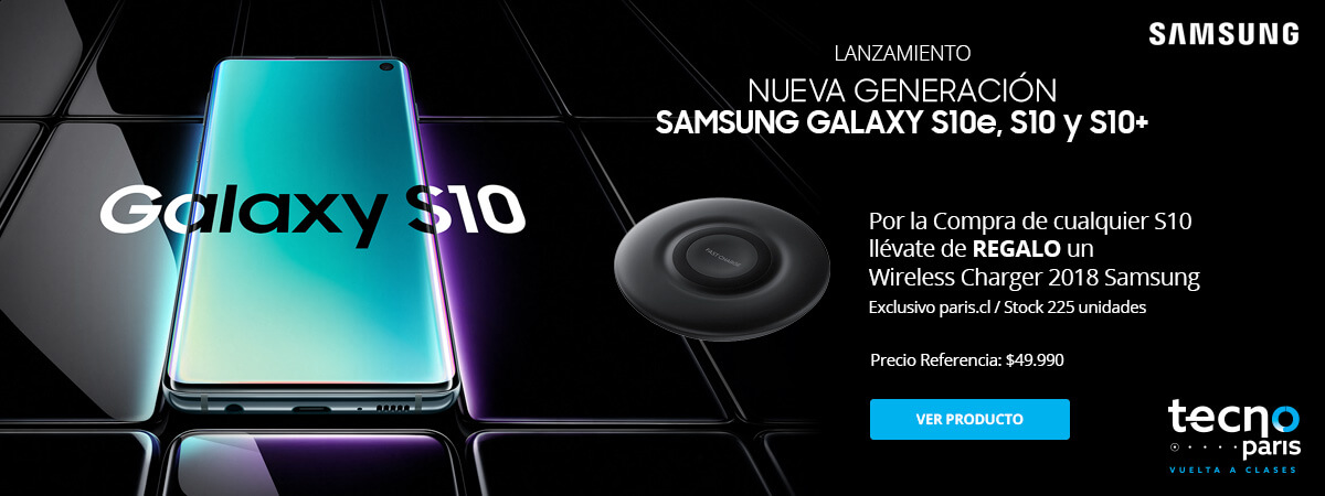Lanzamiento Samsung S10