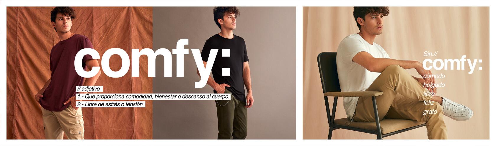 Ver Colección Moda comfy Hombre