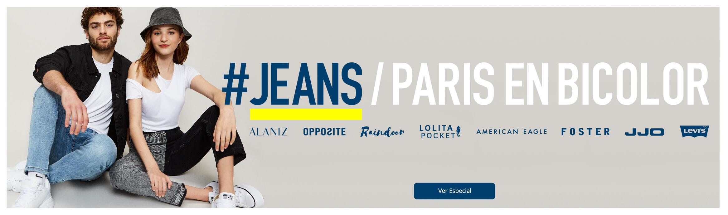 Jeans Paris en Bicolor