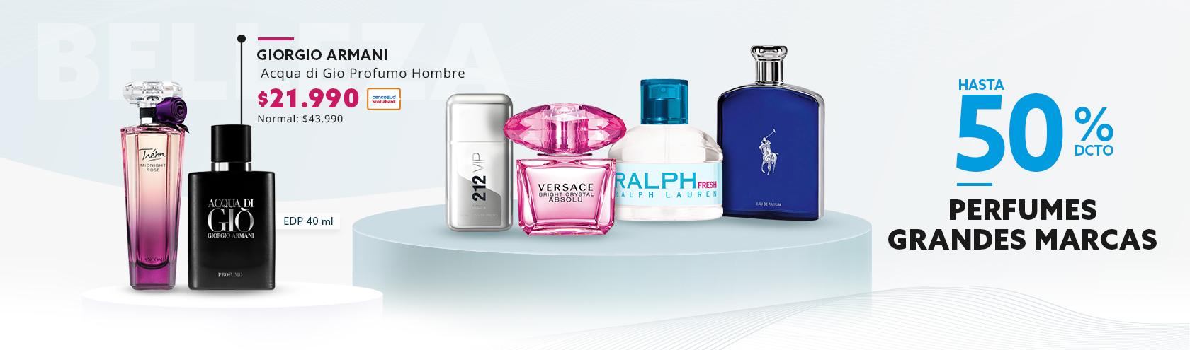 Descuentos en Perfumes Grandes Marcas