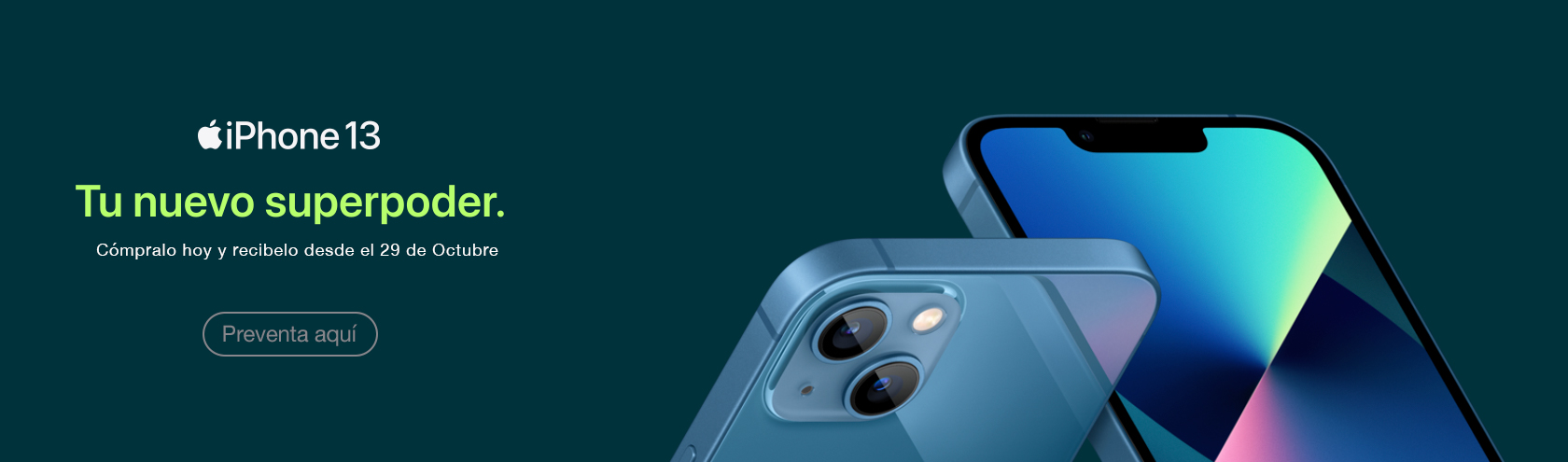 Preventa iPhone 13 Apple