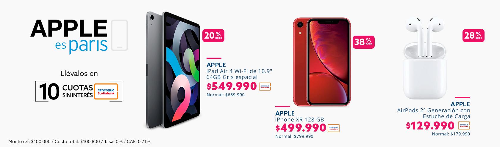24 cuotas sin interes en apple