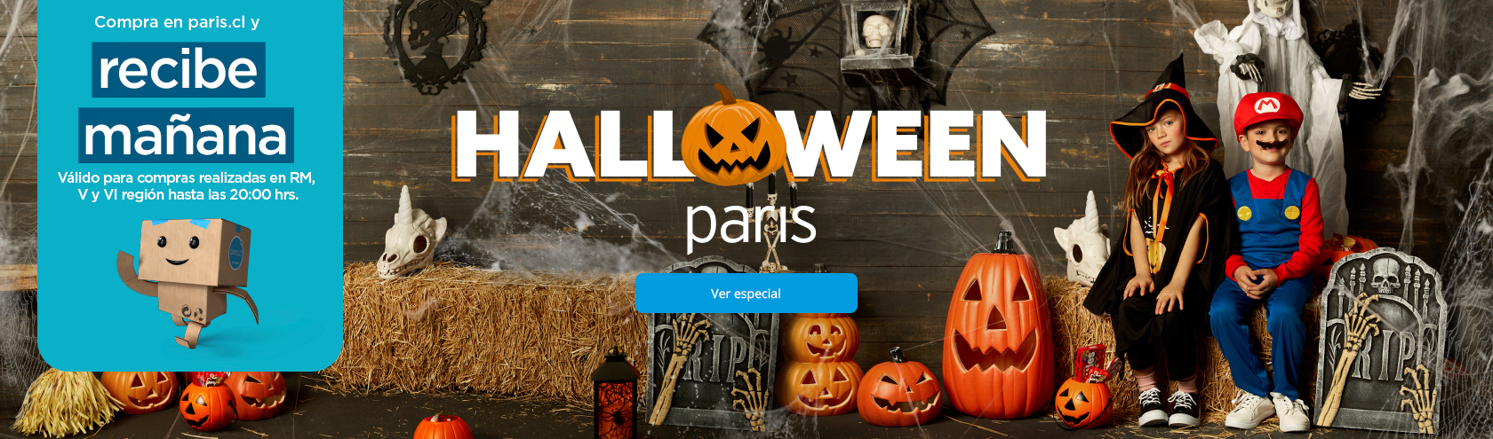 Halloween en Paris