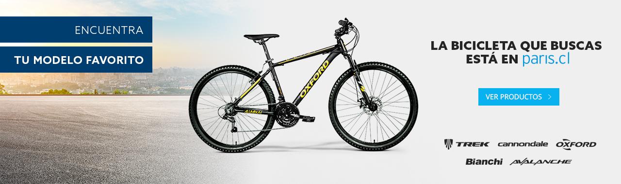 La bicicleta que buscas está en paris.cl