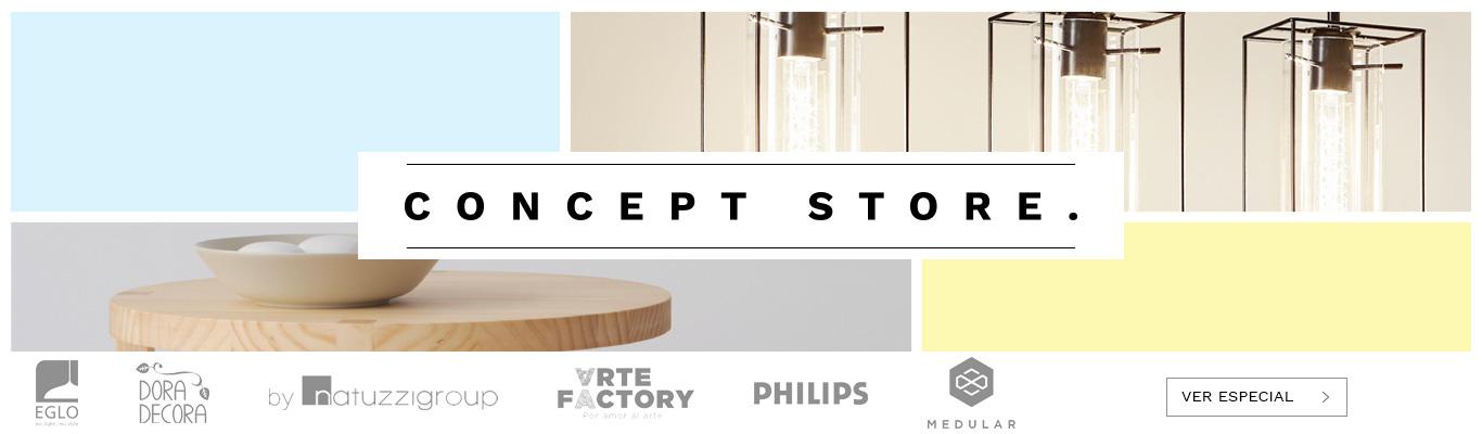Concept store es la primera plataforma digital donde se reúnen las mejores marcas de diseño de muebles y decoración a nivel nacional