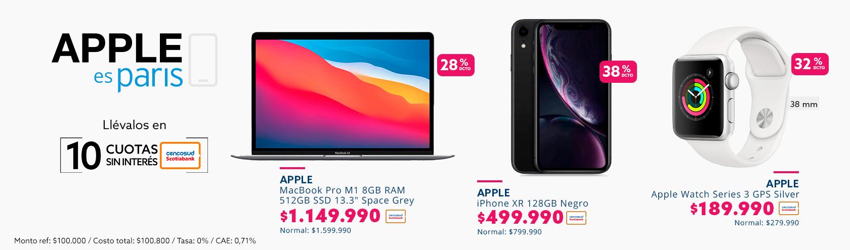 Ofertas Imperdibles en productos Apple