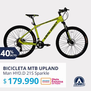 Bicicleta MTB Upland 27.5 MTB Man HYD.D 21S Sparkle