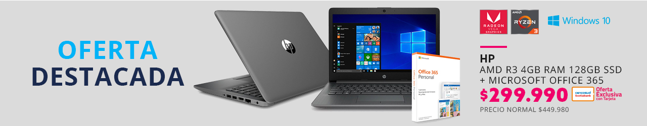 Notebook HP en paris.cl