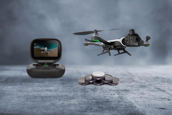 Drones, filtros, soportes y otros accesorios