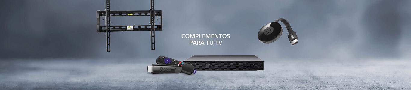 Cables, antenas, soportes y otros accesorios para televisores