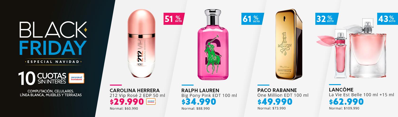 Regalos perfumes.