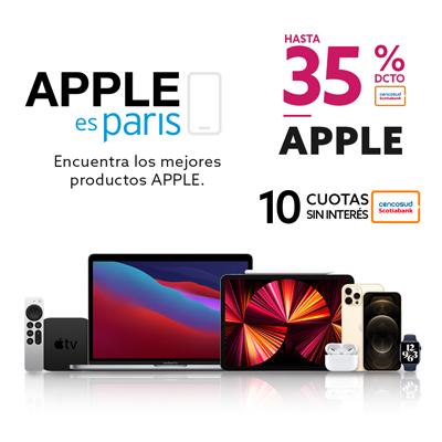 Apple en Paris.cl