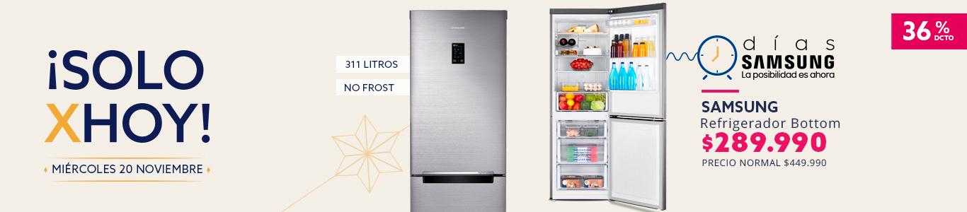 Refrigerador Samsung Bottom No Frost 311 litros