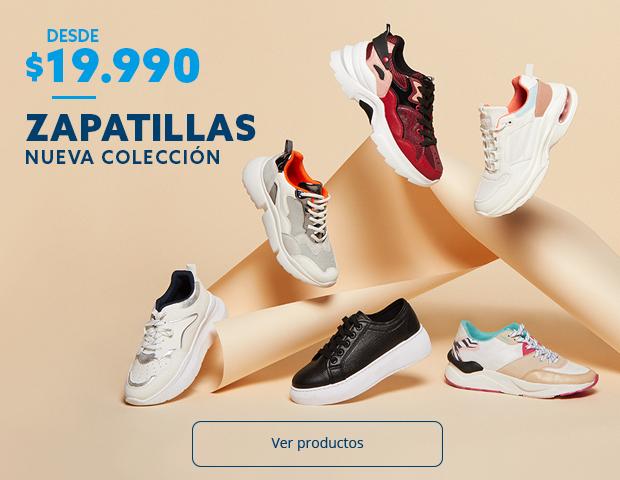 Zapatillas desde 19990 pesos