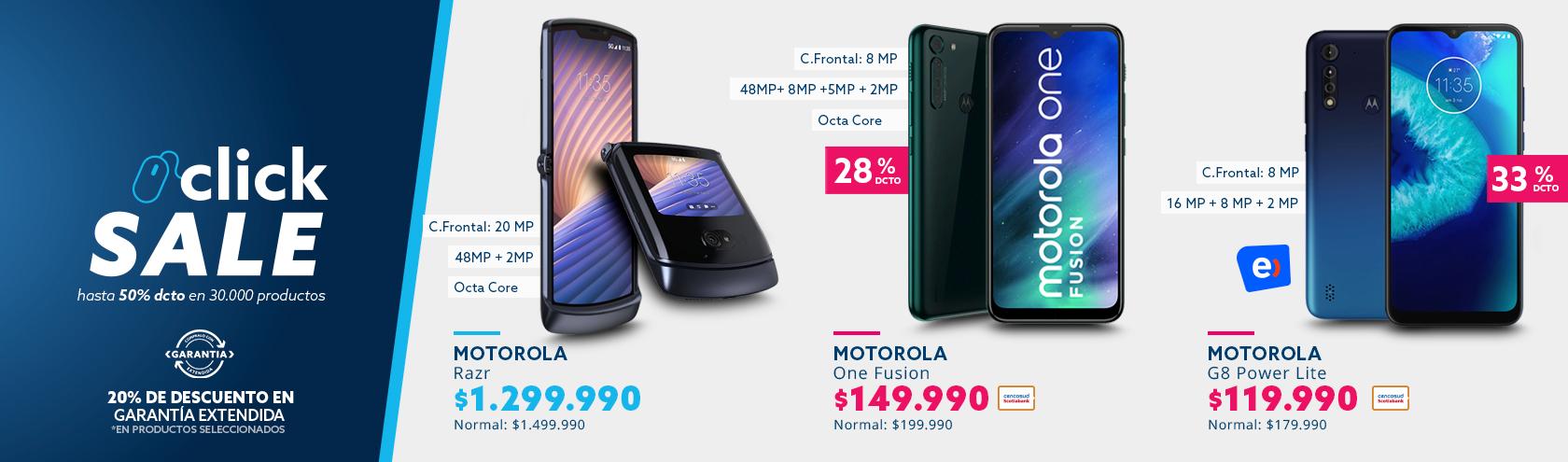 Descuentos en Smartphone Motorola