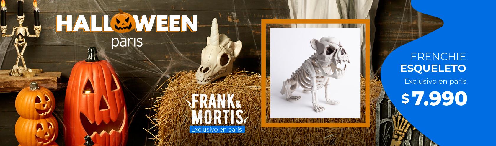 Frank & Mortis - Halloween en Paris.cl