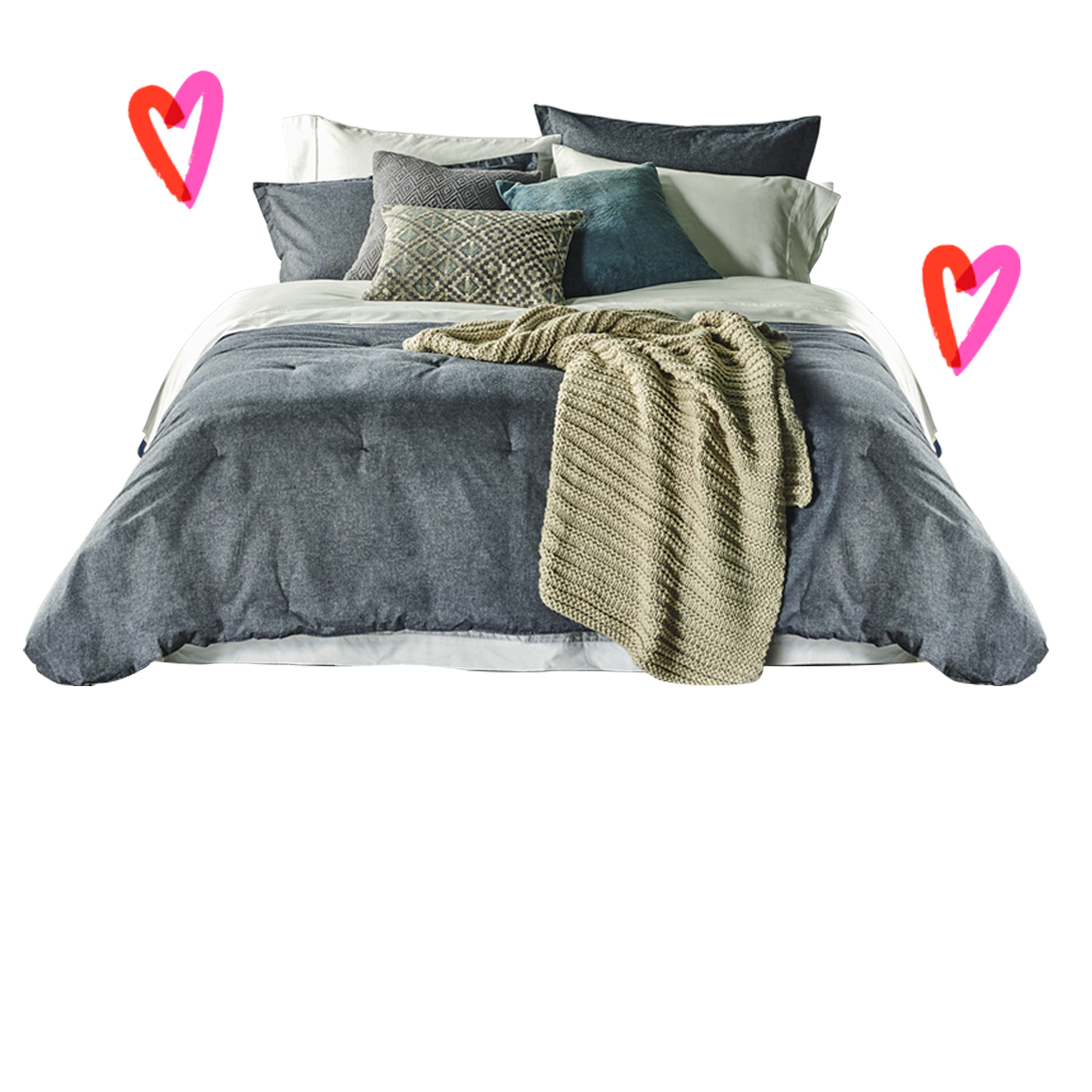 Dormitorio enamorados
