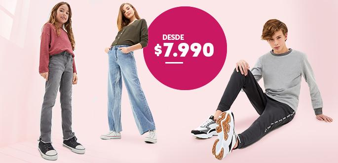 Ver todo Jeans, Pantalones y Joggers