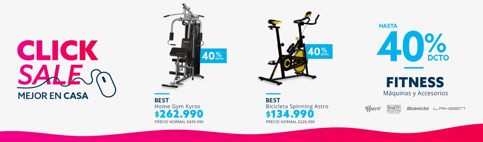 Ofertas home gym