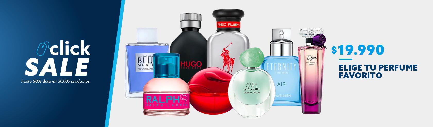 Elige Tu Perfumes Favoritos a 19990