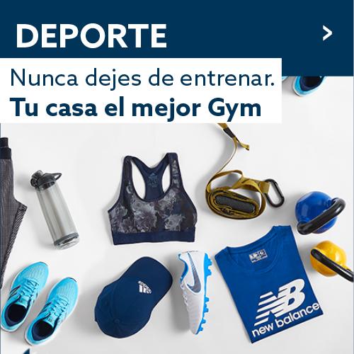 Nunca dejes de entrenar. Tu casa el mejor gym