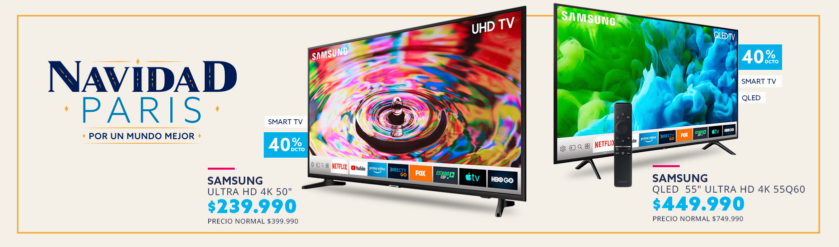 QLED Smart TV 55 Ultra HD 4K 55Q60