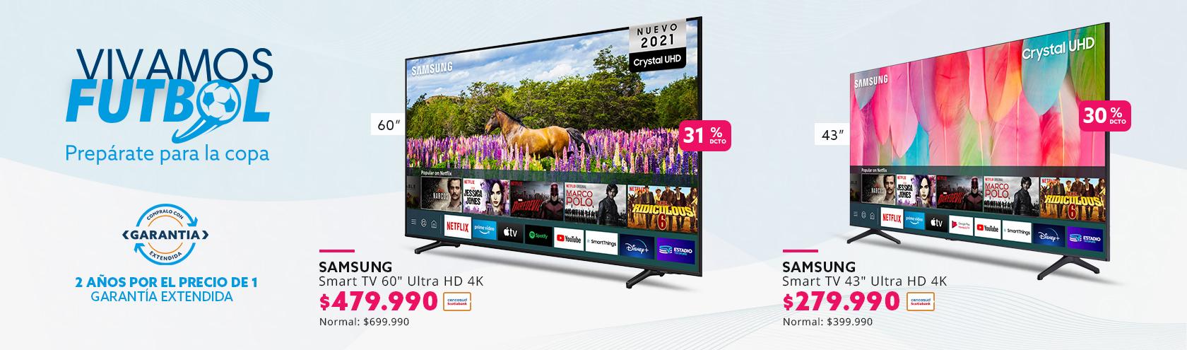 Ofertas en smart tv