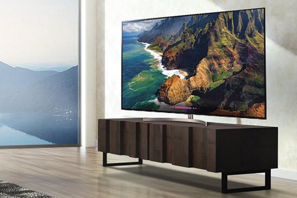 Televisores de distintas marcas con imágenes más nítidas